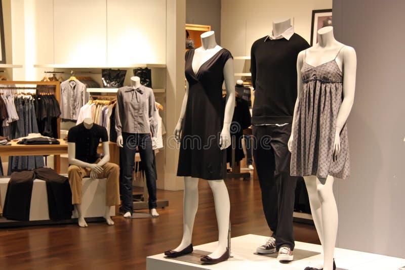 Fashion retail royalty free stock photography