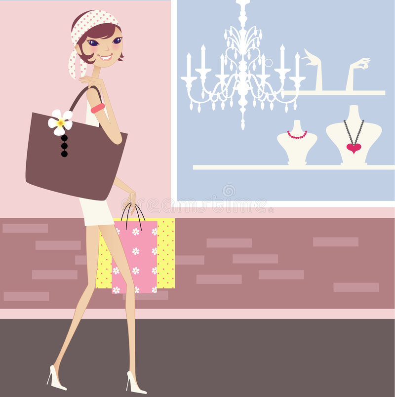 Download Fashion sale stock vector. Image of illustrations, hair - 3019540