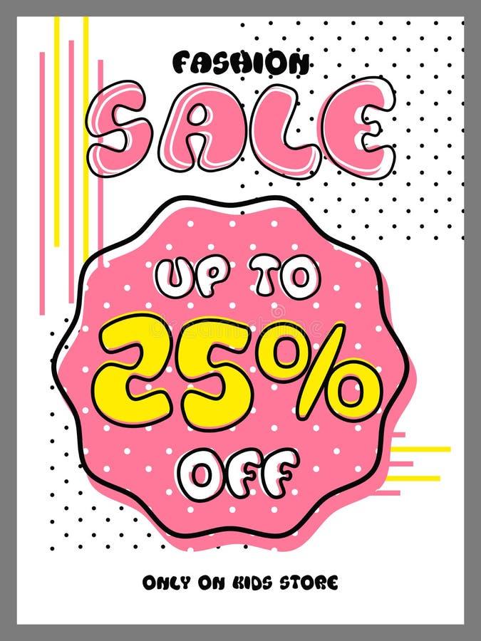 Fashion Sale Flyer Or Banner  Stock Illustration - Illustration of