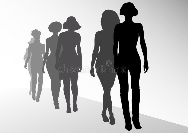 Fashion On Scene Stock Image