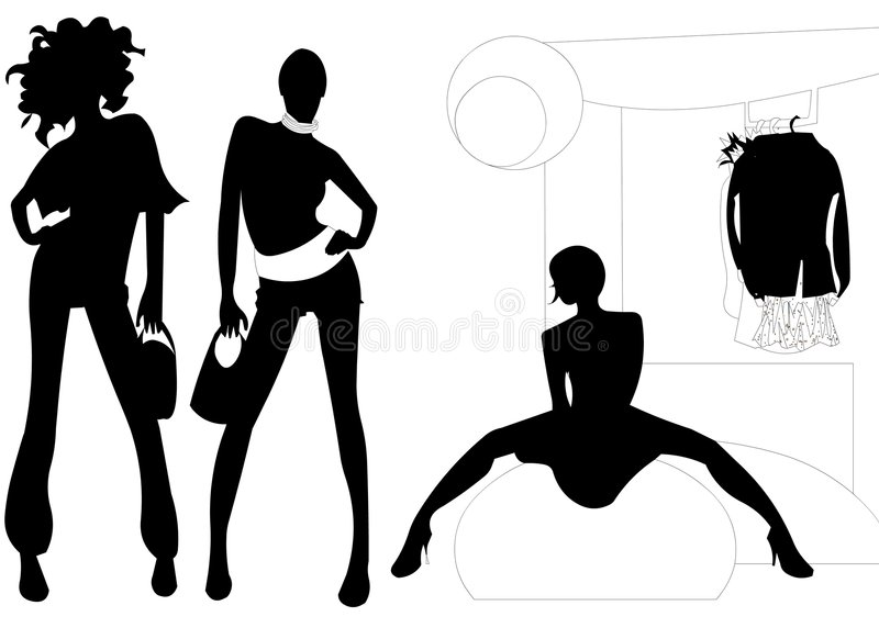 Fashion Shop vector illustration