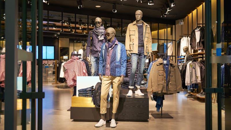 Fashion shop stock photos