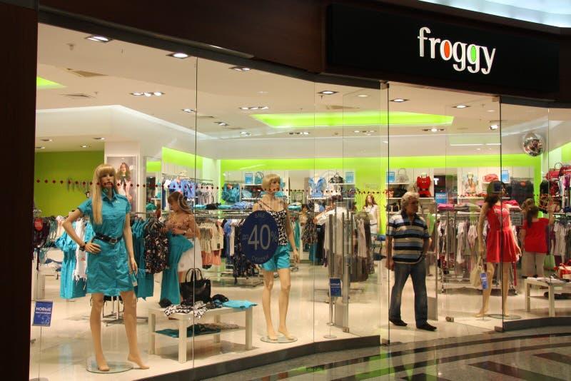 Fashion shop window royalty free stock images