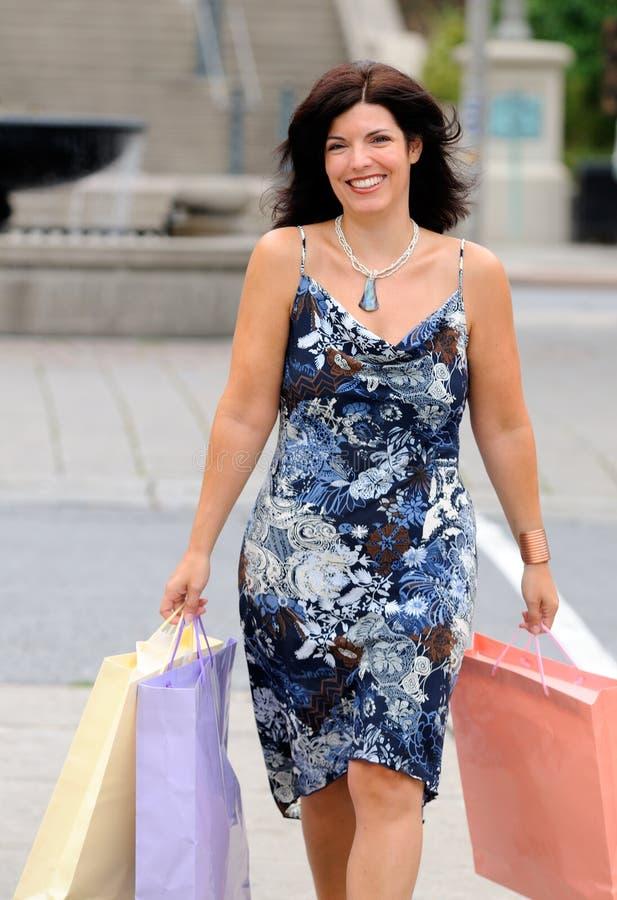 Download Fashion Shopping stock image. Image of walk, thirties - 6551159