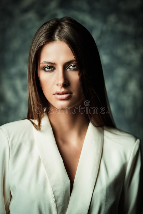 Young elegant lady royalty free stock photos