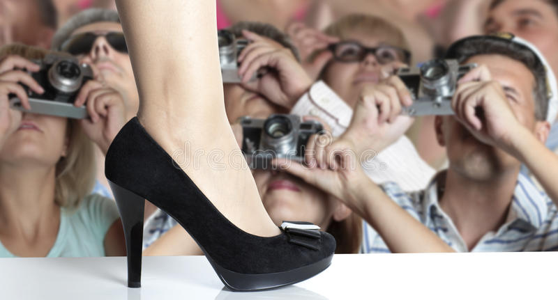 Download Fashion show stock image. Image of photographer, step - 15873709