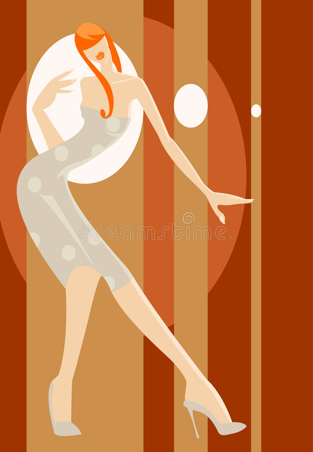 Download Fashion show stock vector. Illustration of glamour, body - 5026112