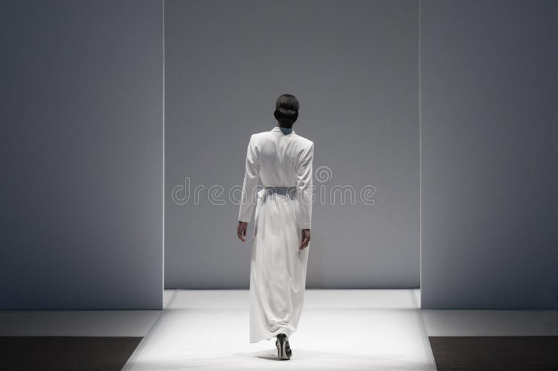 Fashion Show, A Catwalk Event royalty free stock image