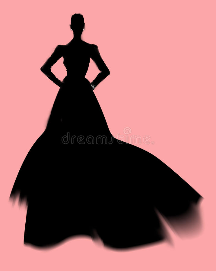 Free Fashion Silhouette Stock Photography - 12027672