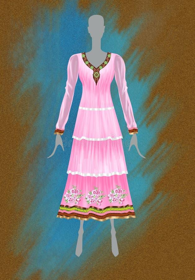 Fashion Sketch Stock Illustration Illustration Of Pink 35112106