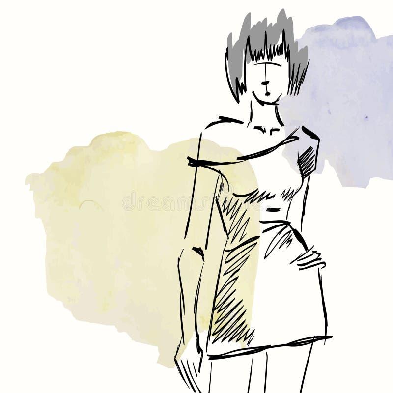 Fashion royalty free illustration