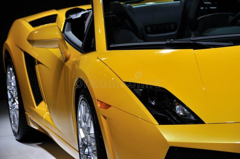 Fashion sports car royalty free stock image