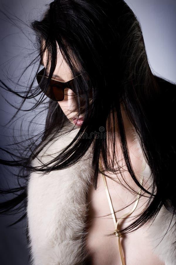 fashion ståenden fotografering för bildbyråer