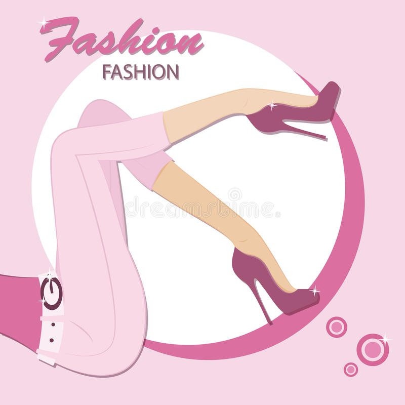 Download Fashion style stock vector. Image of decorative, legs - 30699278