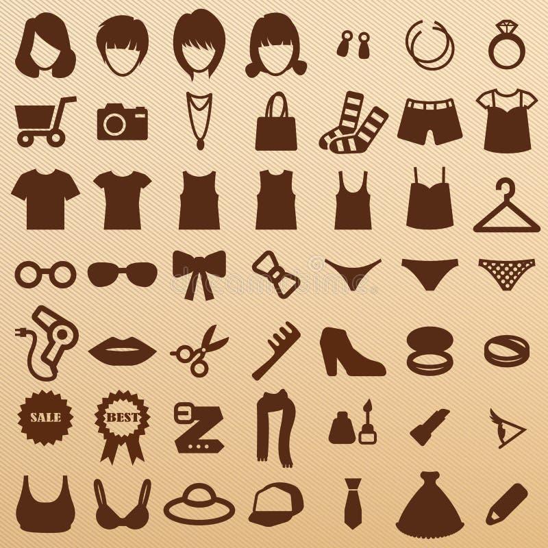 Fashion symbols royalty free stock image