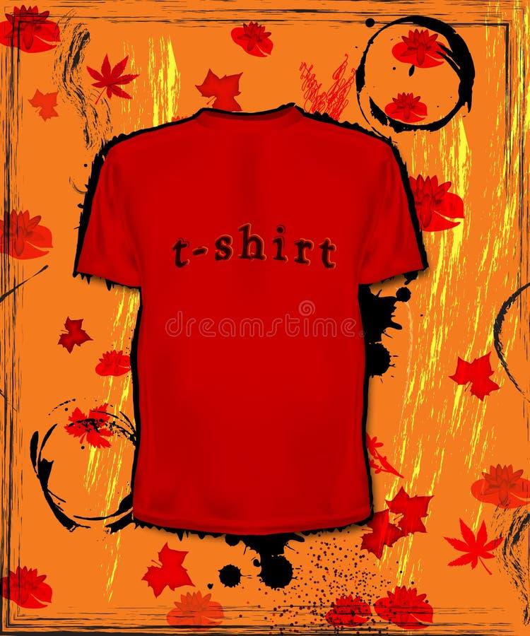 Fashion t-shirt royalty free stock photography