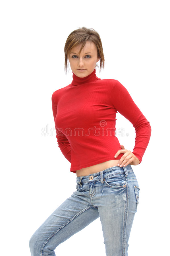 Download Fashion Teen Model stock image. Image of happy, body, hairstyles - 2437869