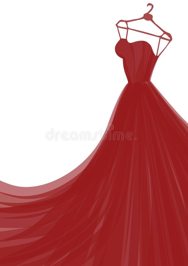 Fashion vector ilustration royalty free stock images