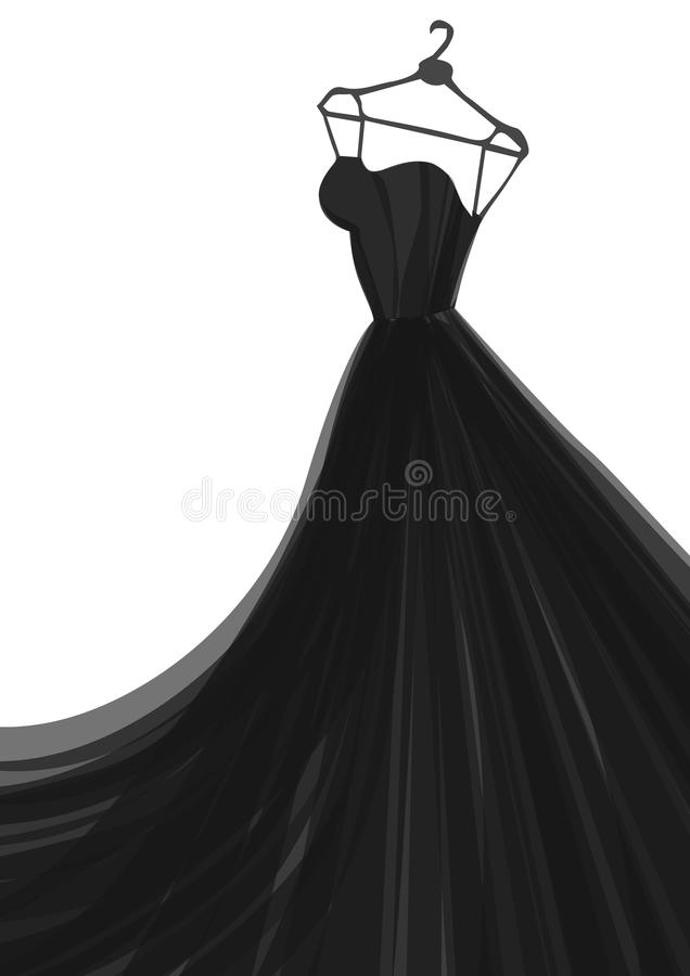 Fashion vector ilustration royalty free stock photography