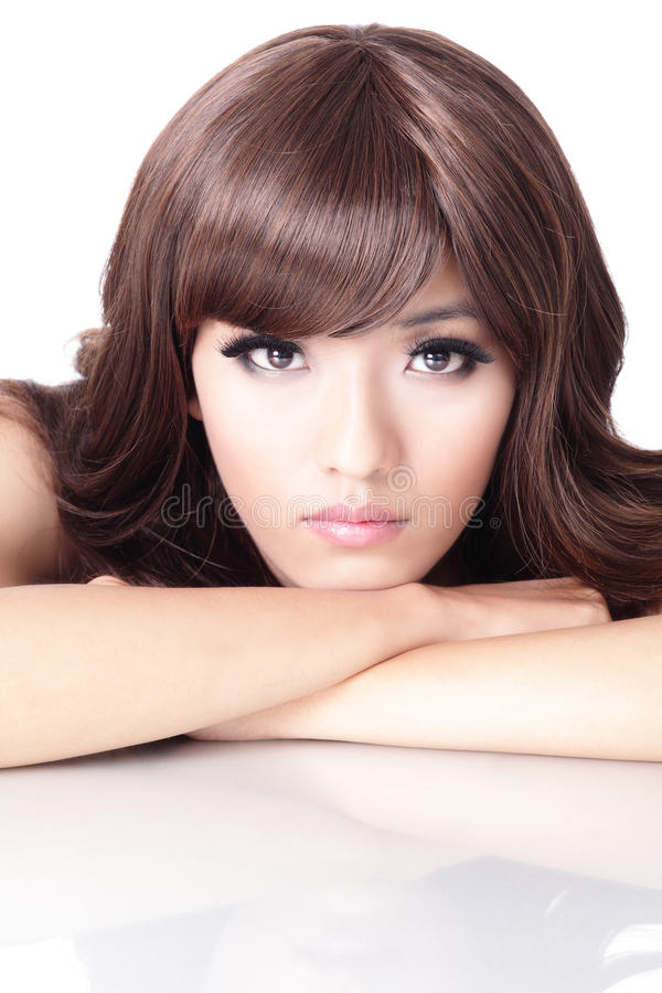 Download Fashion Woman Face Portrait Close Up Stock Photo - Image: 24740514
