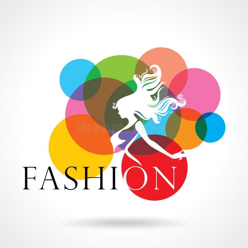 Fashion women creative illustration vector illustration
