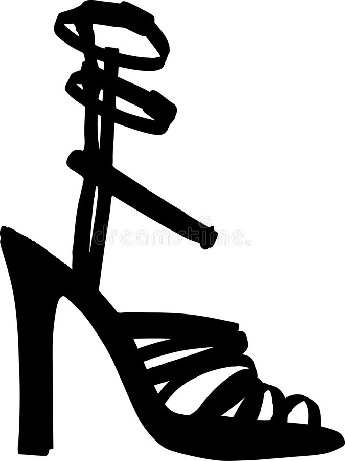 Download Fashion Women Shoes Vector Stock Photo - Image: 6891500
