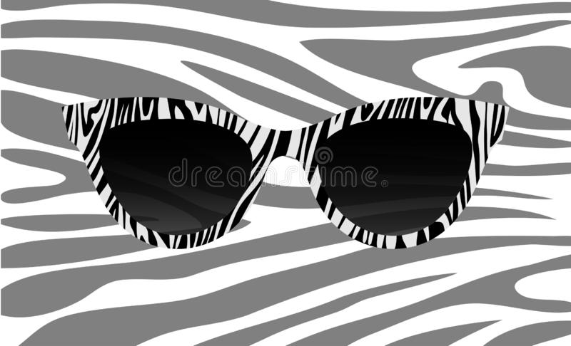 Stock Zebra Illustrations – Sunglasses 88 JcF1TKul3
