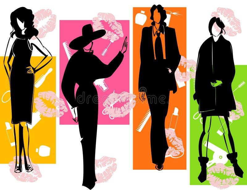 Fashion2 illustration libre de droits