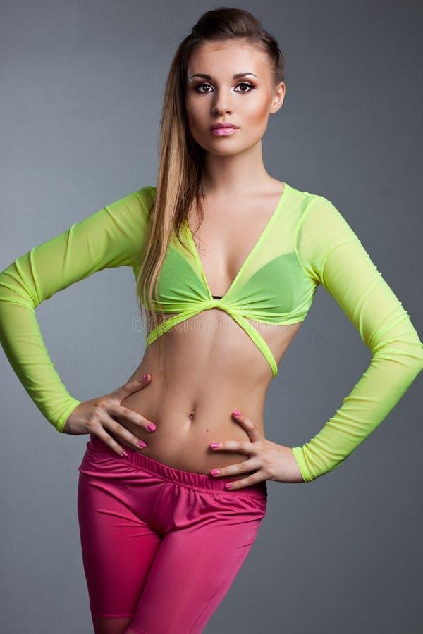 Fashionable athletic girl
