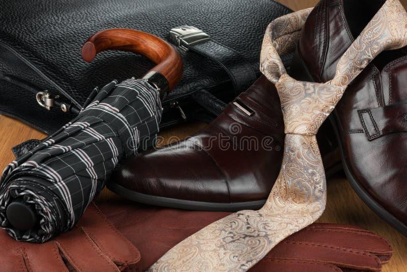Fashionable background, beautiful men's fashion stock image