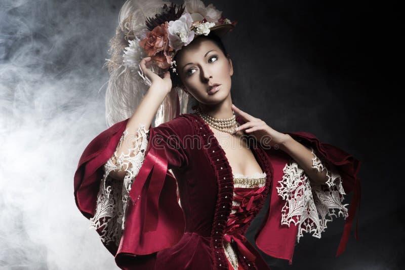 Fashionable Beauty Posing Royalty Free Stock Photo