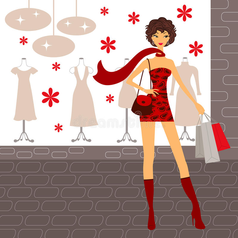 Download Fashionable Beauty Shopping Stock Photos - Image: 16296173