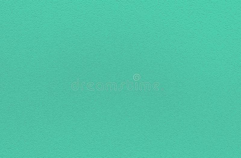 Fashionable biscay green pantone color of spring-summer 2020 season from New York fashion week. Texture of colored porous rubber. Modern luxury background or royalty free stock images