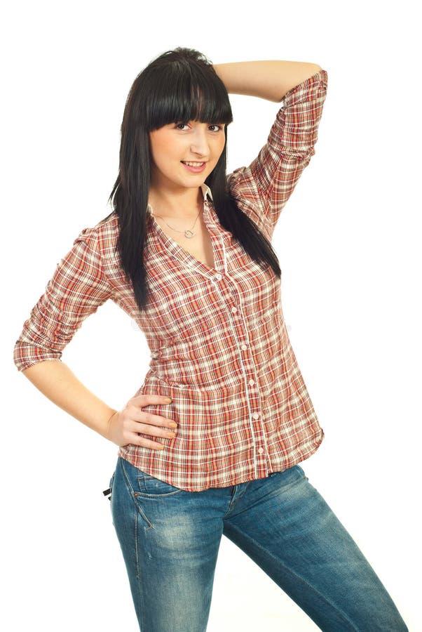 Fashionable casual woman