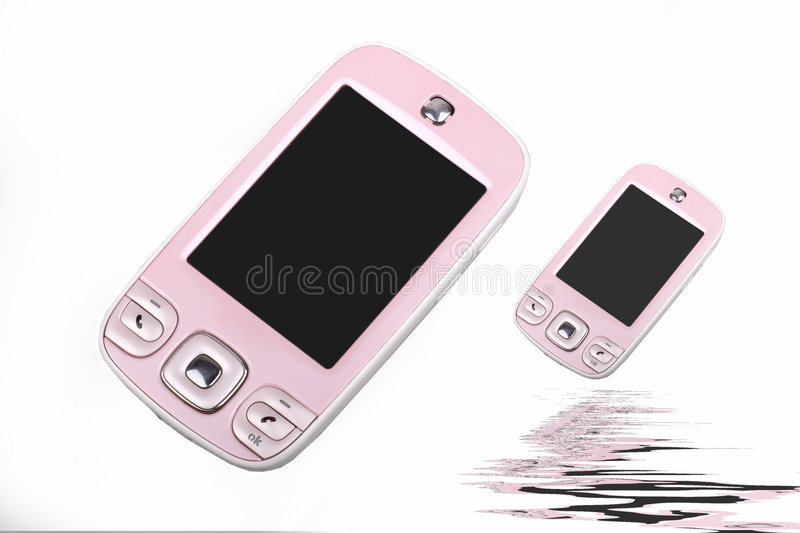 Fashionable cell-phone stock photos