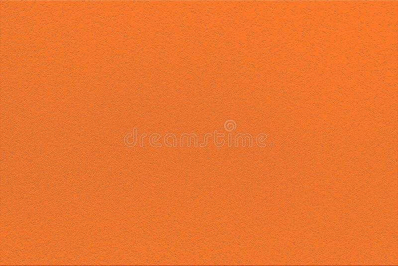 Fashionable color anaranjado pantone de la temporada primavera-verano 2020 de la semana de la moda en Nueva York Textura de cauch foto de archivo