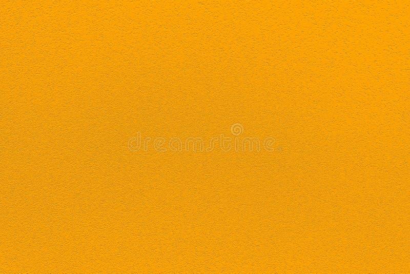 Fashionable color pantone de azafrán de primavera-verano 2020 de la semana de la moda en Nueva York Textura de caucho poroso colo imagen de archivo libre de regalías
