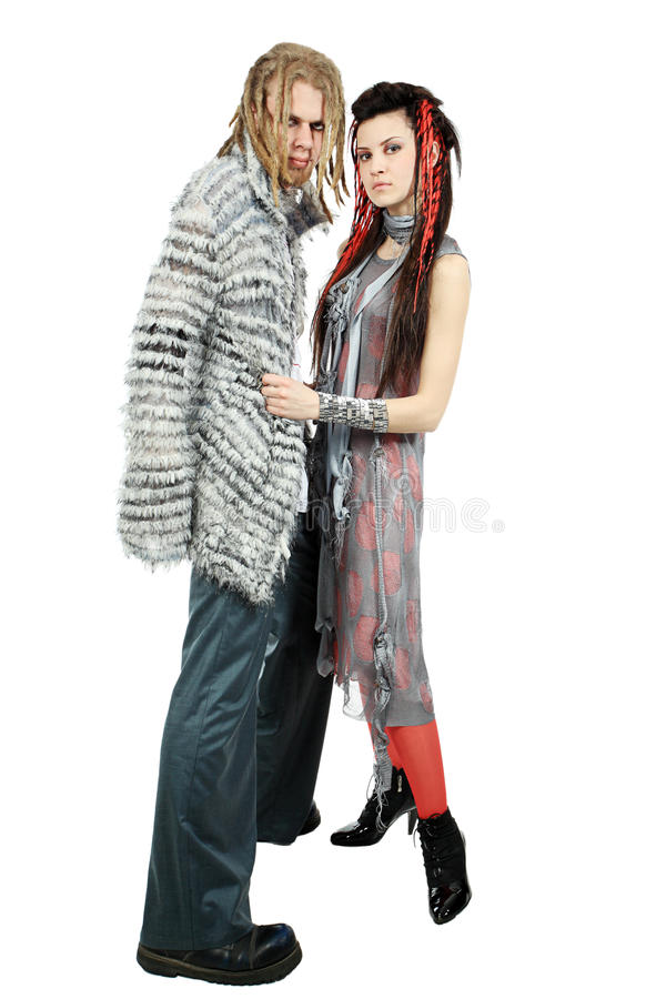 Download Fashionable Couple Royalty Free Stock Photography - Image: 9614577