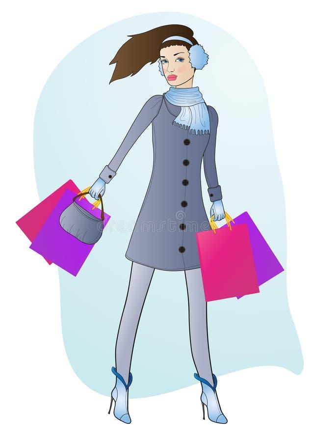 Fashionable Girl Stock Photo
