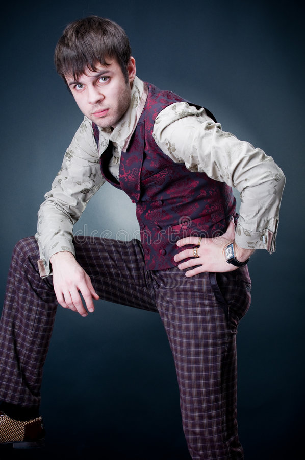 fashionable handsome man στοκ εικόνες με δικαίωμα ελεύθερης χρήσης