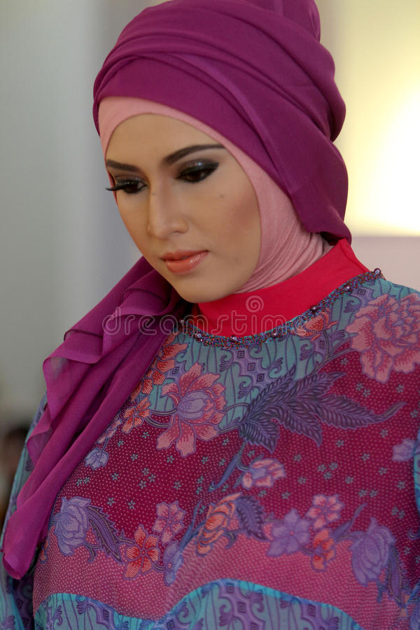 Fashionable hijab royalty free stock photography