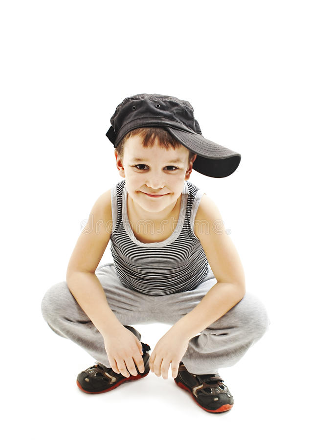 Download Fashionable Little Boy Hip Hop Style Stock Image Image Of Little