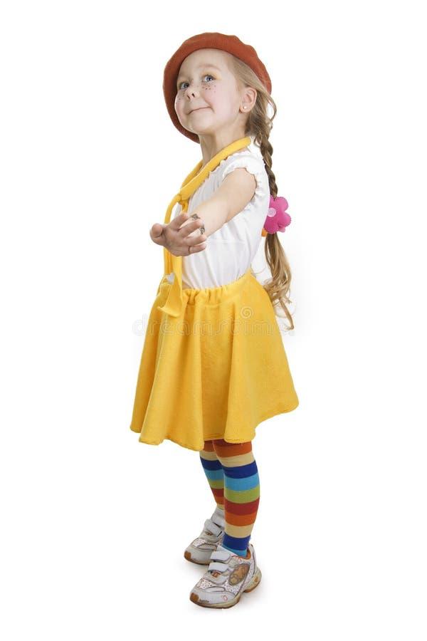 Free Fashionable Little Girl. Royalty Free Stock Photo - 12967735