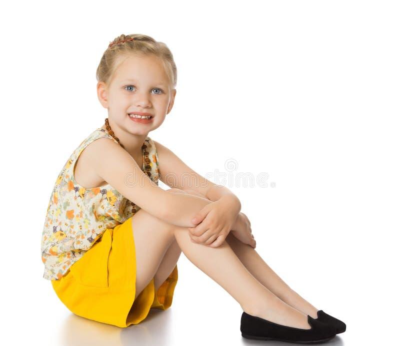 fashionable little girl stock photo image of family