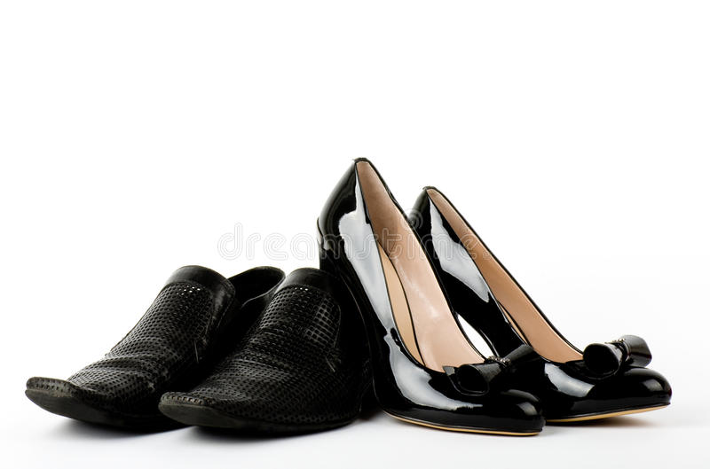 Fashionable male and female shoes