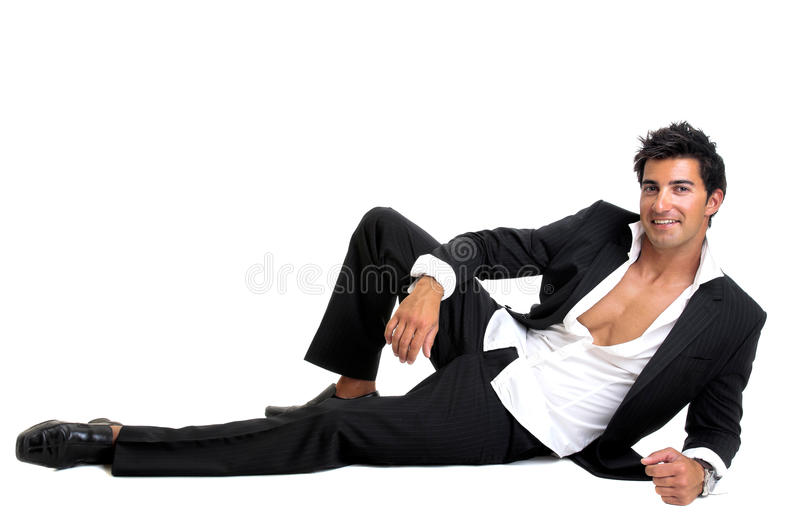 Fashionable man stock image