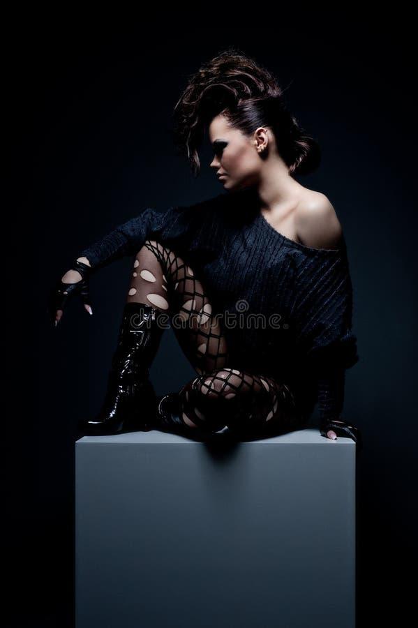 Fashionable Model Stock Photos