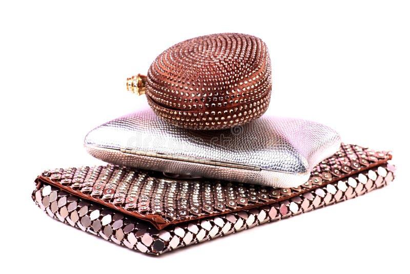 Fashionable purses royalty free stock image