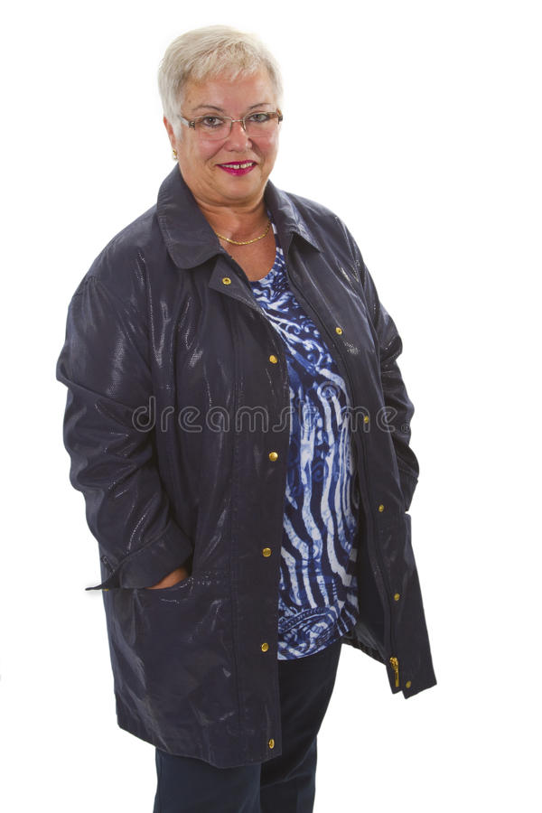 Download Fashionable senior woman stock photo. Image of elder - 26674880