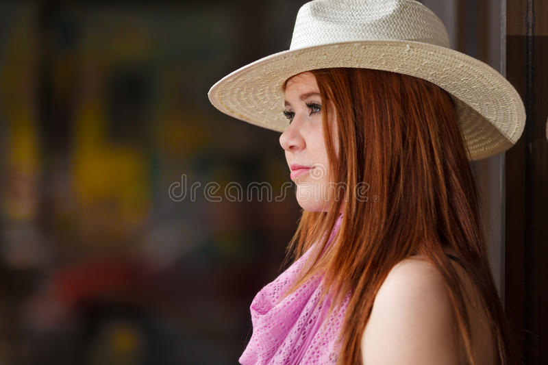 Fashionable teen stock images